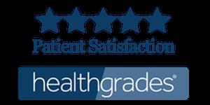 health grades logo with 5 stars.