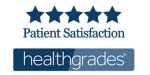 health grades logo with 5 stars.